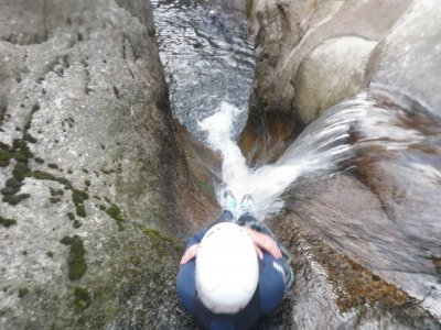 Canyoning for experienced people in Barcelona