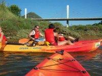 实践在比斯开皮划艇独木舟出租在比斯开