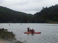 Navegar en piragua en Vizcaya