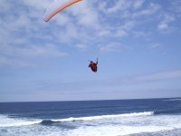 Paragliding in the Bay of Biscay