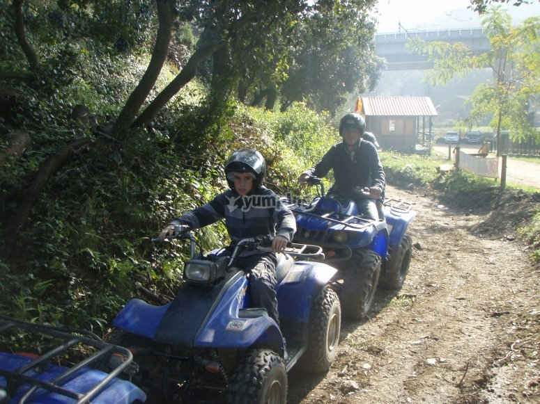 Riding in pairs