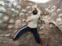 比斯开练登山攀岩第一步爬墙