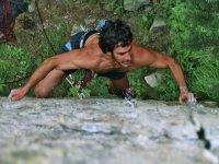 el deporte de la escalada