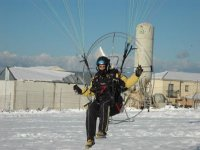 Aterrizaje sobre nieve