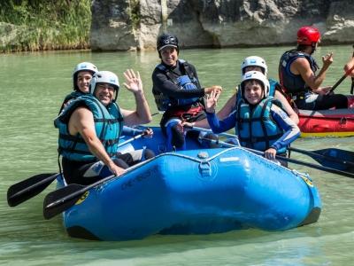 Rafting familiar para adultos Murillo de Gállego