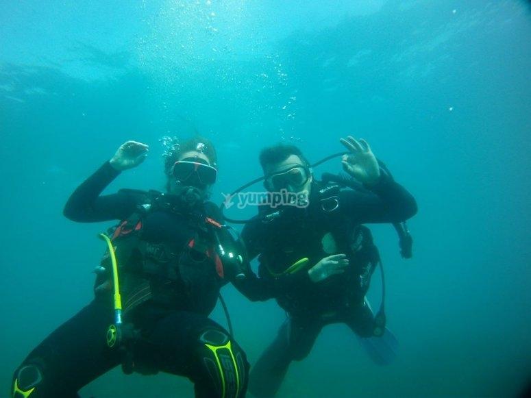 Disfrutando de la inmersion