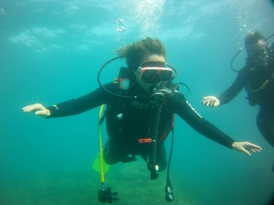 Diving Baptism in Open Waters, Jávea Coast