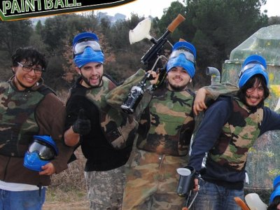 Paintball near Barcelona 200 balls