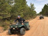 Rutas offroad en quad