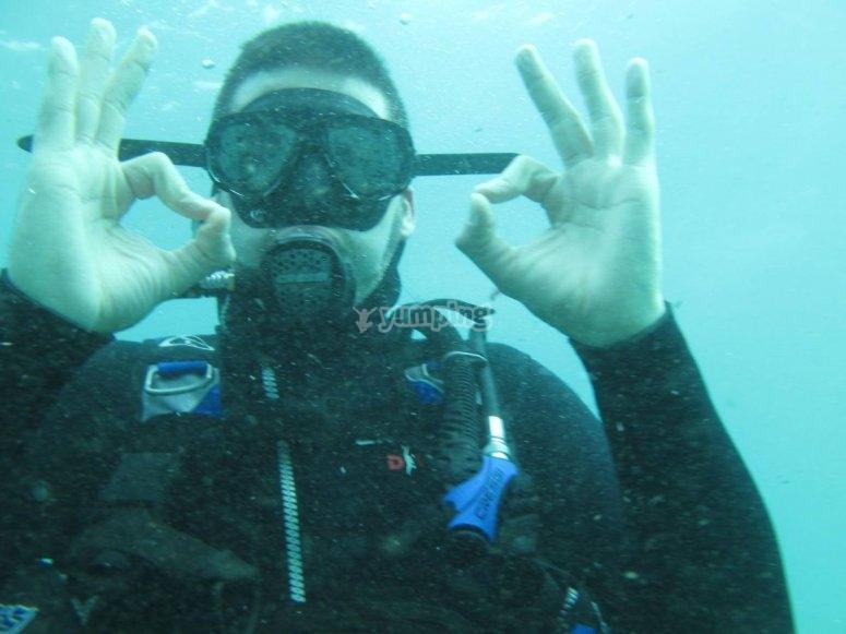 水下控制氧