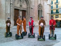 farewell by segway