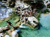Barranquismo en el rio verde