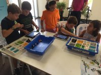 Robotics activities for parties