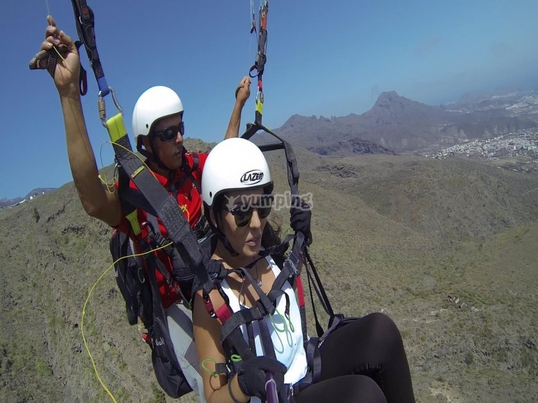Paragliding in Tenerife