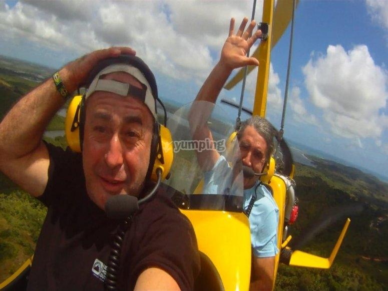 Pilotar autogiro en Navalcarnero