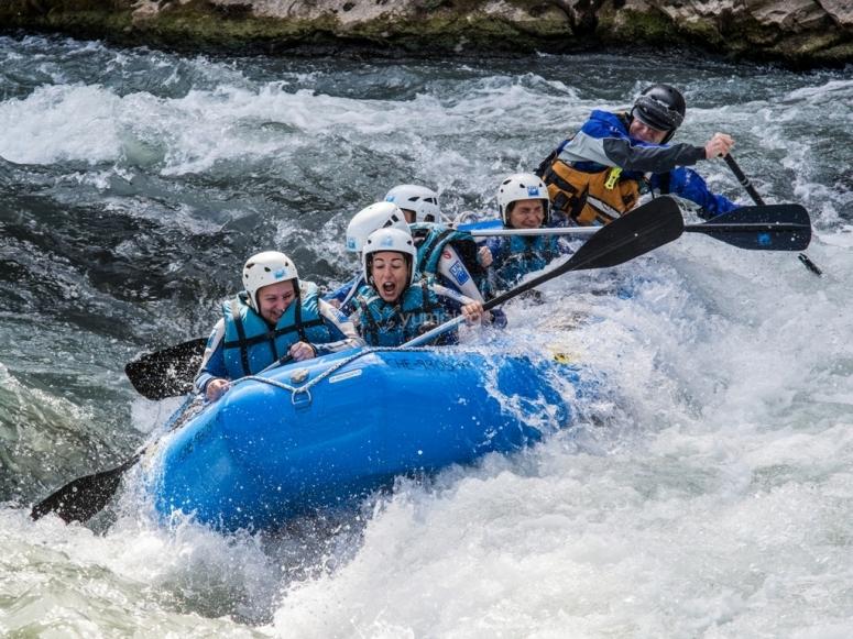 Rafting Mallos de riglos