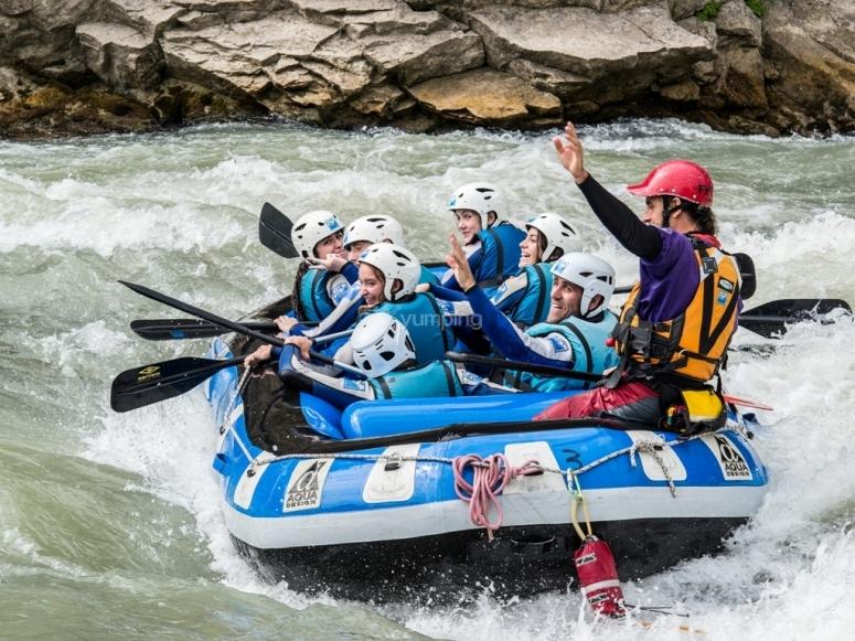 Experiencias en Rafting