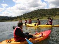 Despedidas de solteros con kayaks