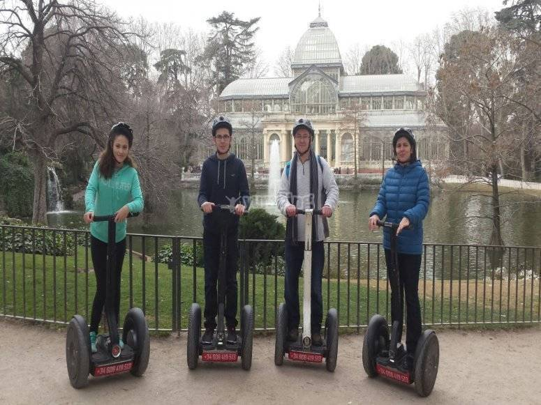 Segway in the Retreat
