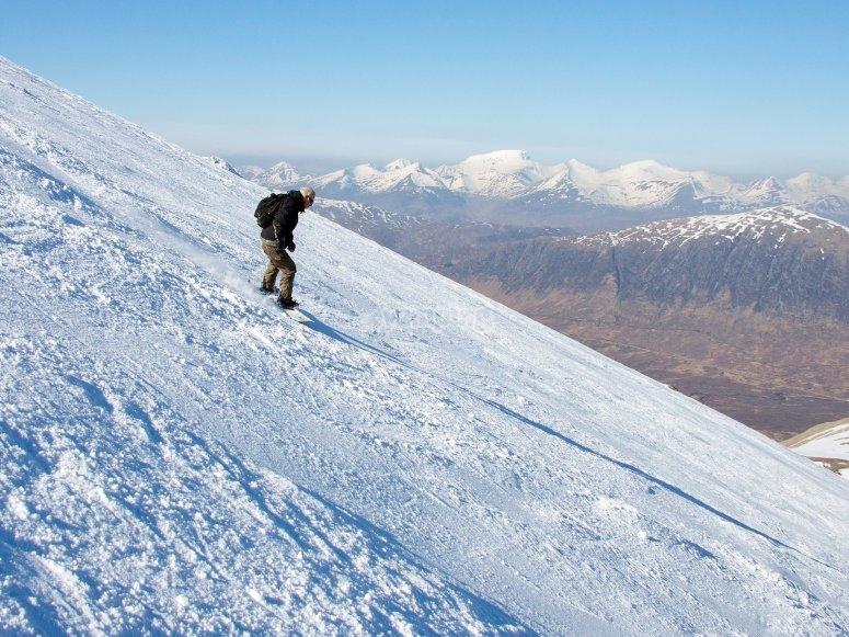内华达山脉滑雪板