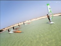 Clases en paralelo a la playa