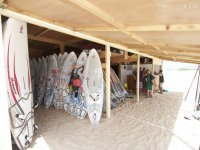 Instalaciones para el material de windsurf