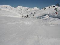 Snowboard por Fuentes de Invierno