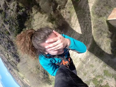 Two bungee jumps for 2, Albentosa, Valentine's Day