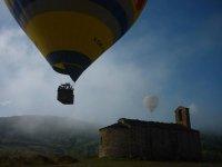 Vuelo en globo en Cataluña
