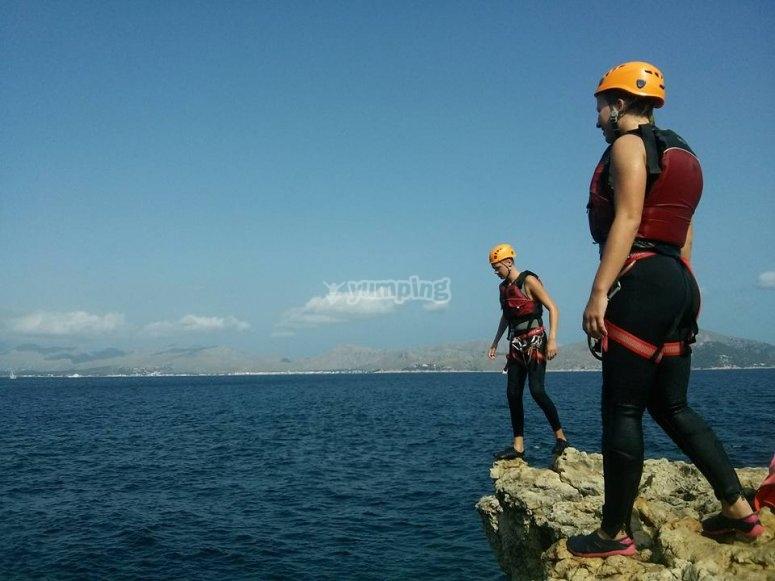 即将跳入地中海