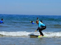在冲浪板平衡