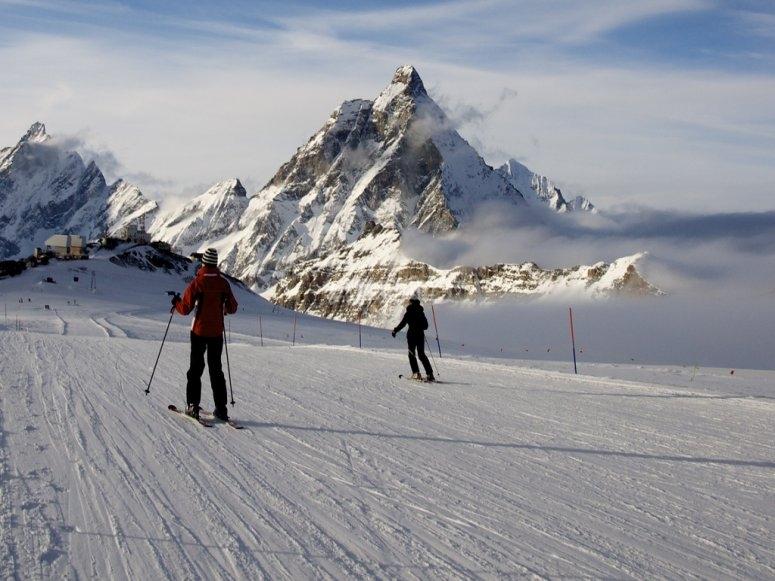 Ski session
