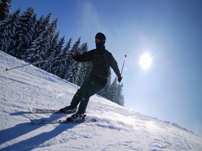 Skiing course + material, Pradollano, 2 hours