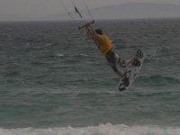 Enjoy kitesurfing