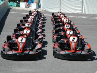 2 karting rounds of 10 minutes in Barcelona