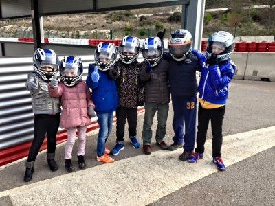 Karting Round for Children 10 min in Barcelona