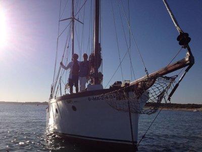 Gita romantica in barca nell'esclusiva Huelva 2h