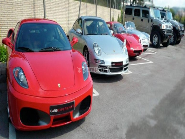 Choose one of our ferraris