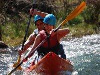 Enjoy paddling with the kayaks