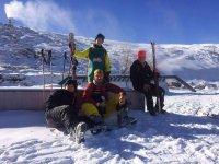haciendo ski