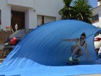 冲浪滑板训练