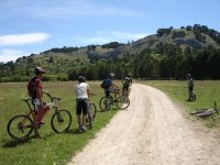 Guided mountain bike routes