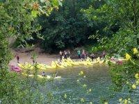 Pratica canoa nelle Asturie