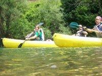 Vela in canoa nelle Asturie