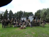 Bachelor party airsoft team