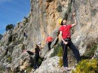 iniciacion a la escalada en Granada