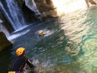 Water canyoning in Asturias
