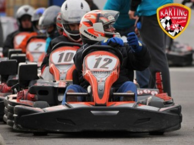 """Karting Super GP XXL Barcelona"""