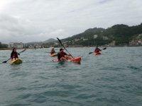 海边皮划艇之旅