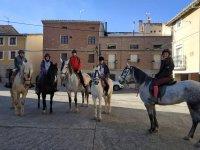 Tour a caballo por los alrededores de San Torcuato
